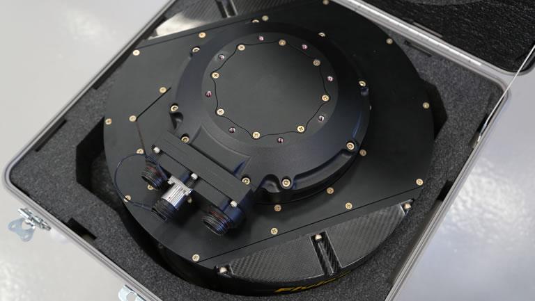 GSS camera mount in flight box